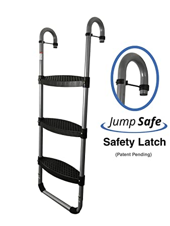 Trampoline pro wide step 200051 - Runner up Ladder