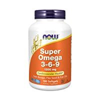 NOW Supplements, Super Omega 3-6-9 1200 mg with a blend of Fish, Borage and Flax...