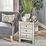 Christopher Knight Home 301749 Lucretia Accent Table, Clear