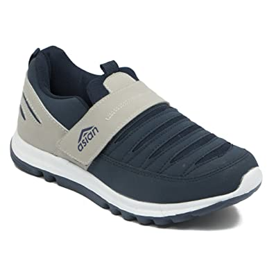 6821e5e8f ASIAN Shoes SuperfitNavy BlueGry Men Sports Shoes  Buy Online at Low Prices  in India - Amazon.in