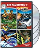 4 Kid Favorites: Hot Wheels AcceleRacers Collection (DVD)