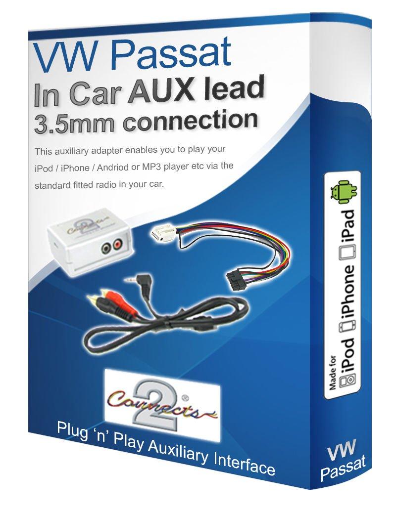 VW Passat AUX iPod iPhone MP3 player VW iPod iPhone AUX: Amazon.co ...