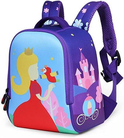 3D Waterproof Primary School Backpack Bookbag Shoulder Bag Kids Bag Boys Girls