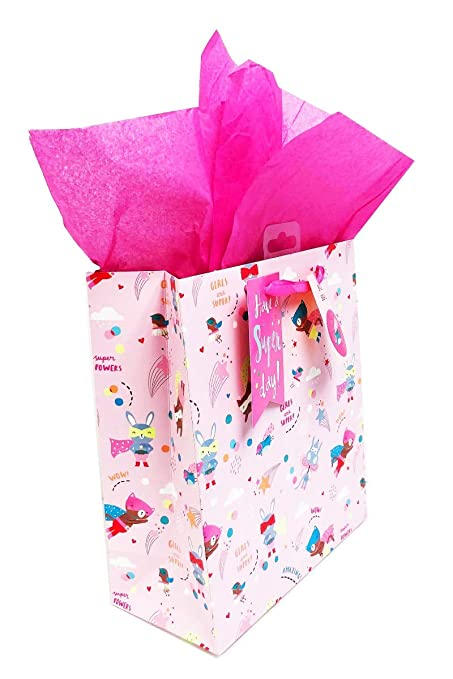 Bolsas de regalo de cumpleaños para niñas, tamaño XL, tamaño ...