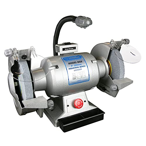 Bench Grinder, 8 In. Dia., 3450 rpm