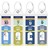 Royal Caribbean Luggage Tag Holders by Cruise On - Fits All Royal Caribbean Ships & Tags for Cruises in 2020 & 2021
