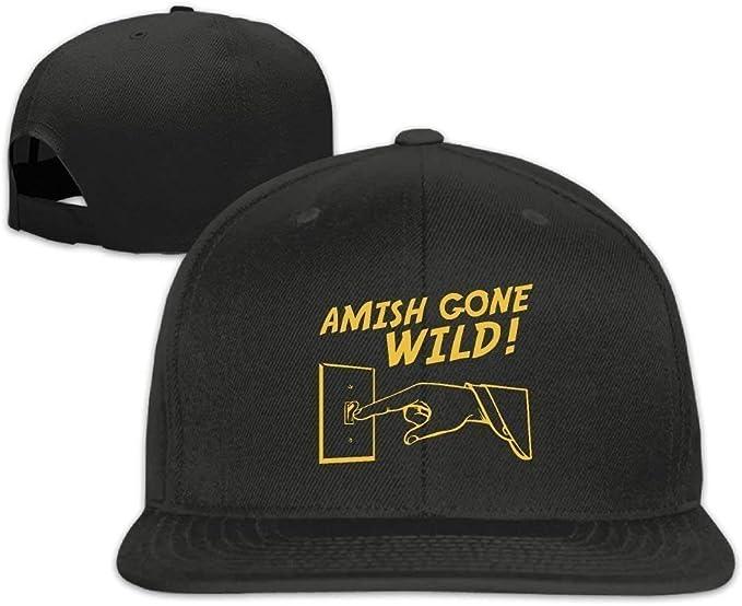 Reghhi Gorras de béisbol Divertidas Sombreros Gorra Amish Gone ...