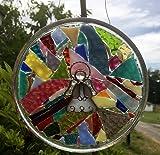 Angel Stained Glass Suncatcher, Christian Art