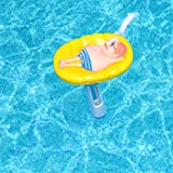 MILLIARD Floating Pool Thermometer, Floatin' Guy Large Size with String, for Outdoor / Indoor Swimming Pools, Hot Tub, Spa, Jacuzzi and Pond