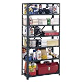 Edsal HC30127 Steel 7-Shelf Shelving Unit, 750 lb