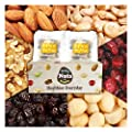 Six Trail Mix Nuts, 2lbs, 32 packs (1oz) (Almonds 30%, Walnuts 20%, Macadamia nuts 15%, Cashews 15%, Raisin 10%, Cranberries 10%), No additives, Unsalted, Natural, Premium Nuts, On the Go, Mixed Nuts from California Kenka, Co., Ltd