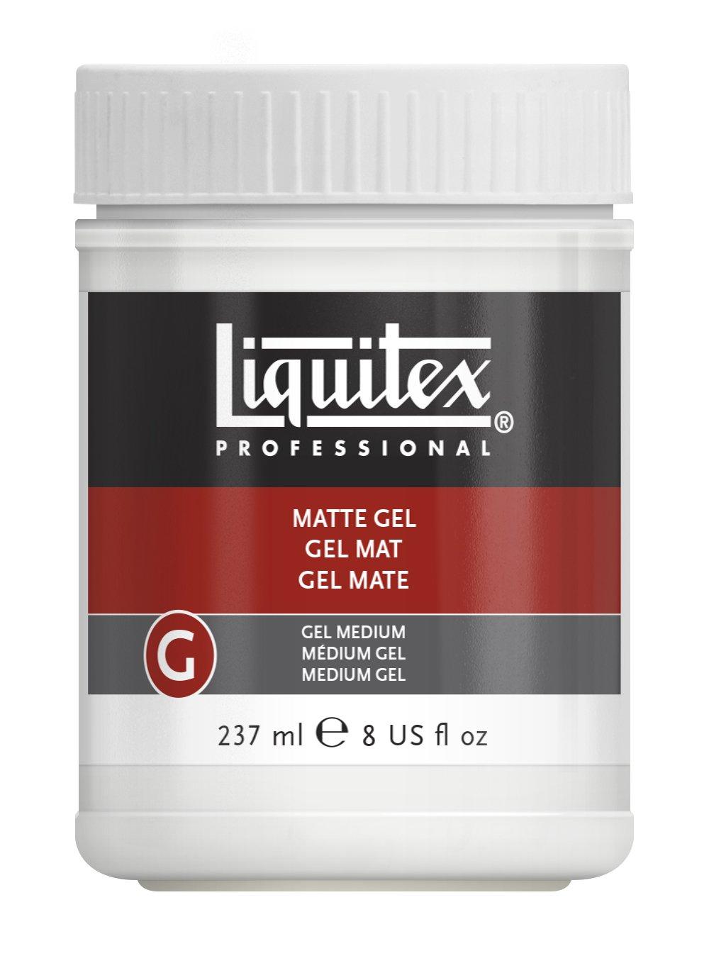 Liquitex 5321 Professional Matte Gel Medium, 8-oz