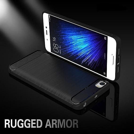 reputable site 19d55 1d8a0 Xiaomi Mi 5 Mi5 Xiaomi 5 Case Xiaomi M5 Case Xiaomi M 5 Case Soft Silicone  Brushed Style Back Cover Phone Bag Armor Carbon Fiber Phone Skin Bag Bumper  ...
