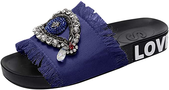 Women/'s Cute Stylish Sandals With Bow And Crystal Designs Durable New Foot Wears