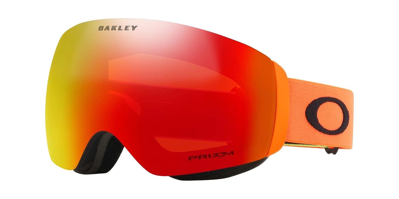 f1a7cd5ac9a6 Amazon.com   Oakley Flight Deck XM Adult Snowmobile Goggles - 2018 Team  Oakley Prizm Torch Iridium Medium   Sports   Outdoors
