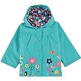 Arshiner Giacca impermeabile con cappuccio Outwear Impermeabile cappotto delle bambine e ragazze