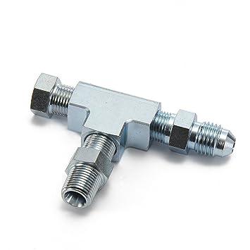 epman tk-cgq201 1/8NPT a 4 un Turbo adaptador conexión en T W/bloque aceite Sensor de presión de alimentación: Amazon.es: Coche y moto