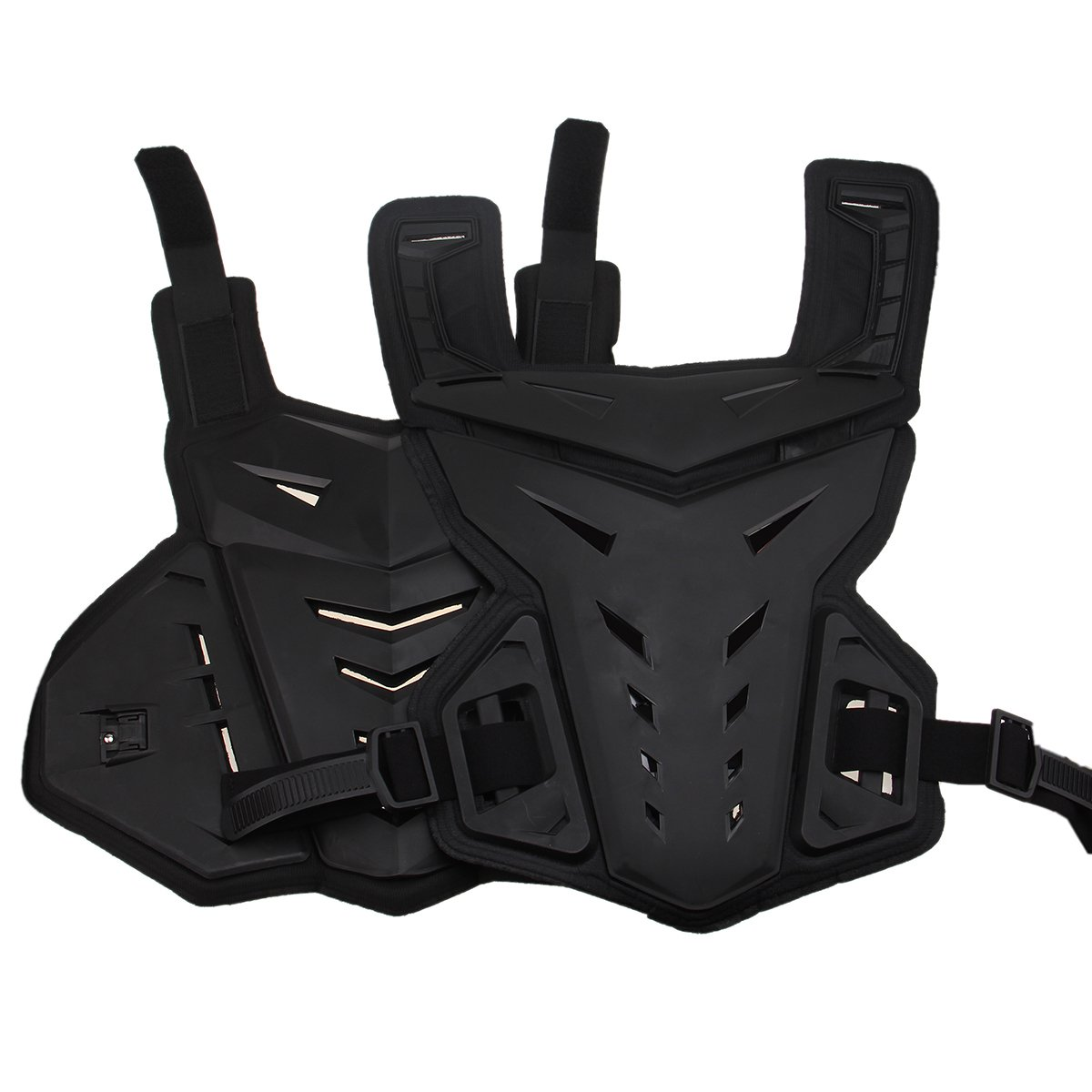 Chest Back Vest Armor Protector for Motocross Riding Skating Skiing Scooter by Possbay (Image #4)