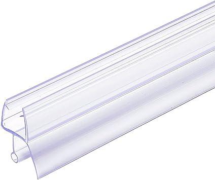 Kingran Frameless Shower Door Bottom Seal Fits 3 8 X 36 Swinging Shower Door Amazon Com