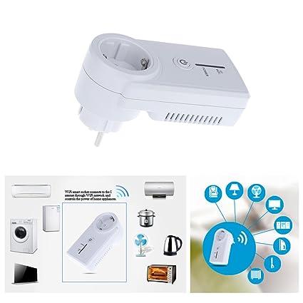 Amazon.com : US Plug AC100-240V Wifi Power Socket Smart Phone ...