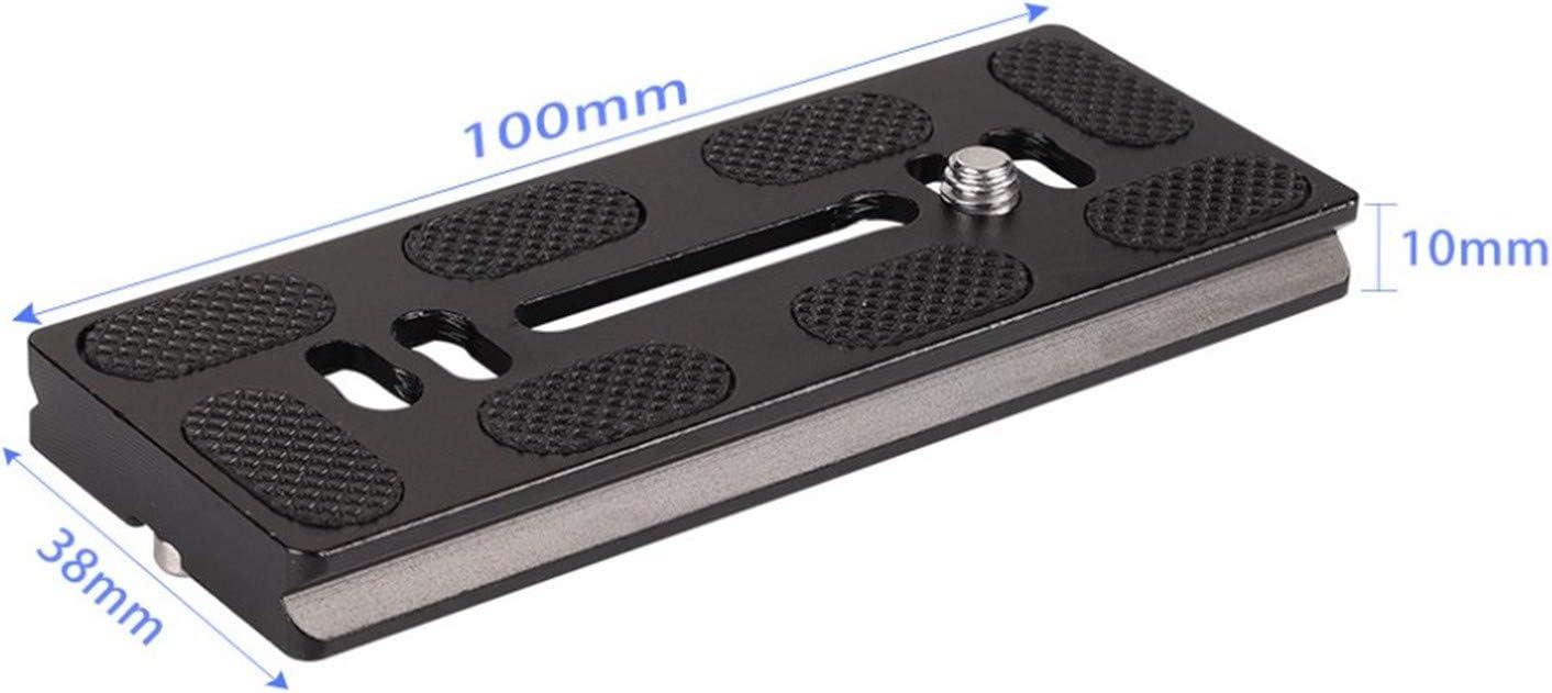 1PCS PU40 PU50 PU60 PU70 PU100 Quick Release Plate with 1//4 Screw for Arca-Swiss DSLR Tripod Monopod Ball Head PU50