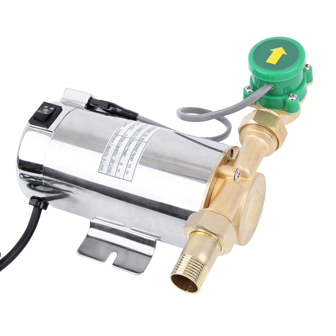 XuanYue Electric Water Pressure Pump 90W Self Priming Water Pump Booster For Home Shower Washing