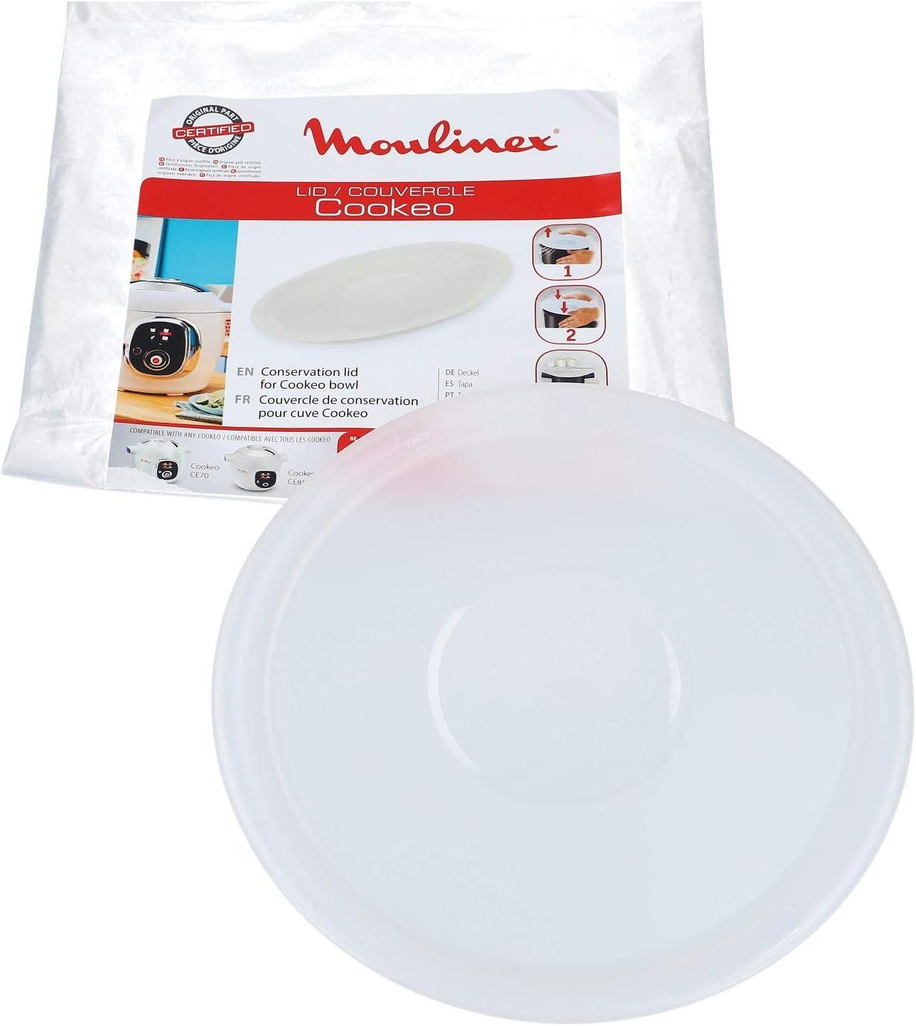 Tapa de conservación olla Cookeo Moulinex (xa608000): Amazon.es: Hogar