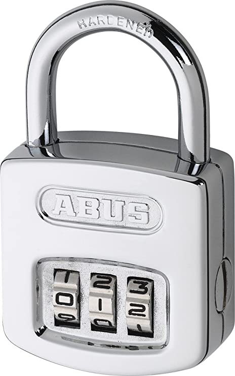 Set of 50 ABUS Mechanical ABUKB12023 Padlocks