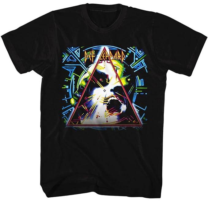 ce41bfe977e Amazon.com  Def Leppard Hysteria Cover Mens Black T-Shirt  Clothing