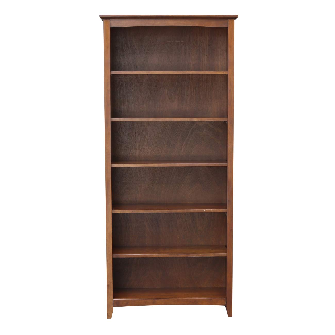 International Concepts Shaker Bookcase, 72-Inch