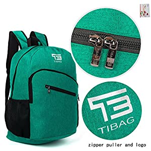 SOMISS 15/25/30/35L Water Resistant Lightweight Packable Foldable Daypack Backpack (35L, DARK BLUE)