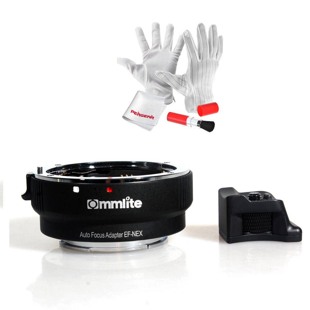 Commlite Auto-Focus Mount Adapter EF-NEX for Canon EF/EF-S Lens to ...