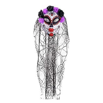 BESTOYARD Máscara de Miedo de Halloween Máscara de Payaso de ...
