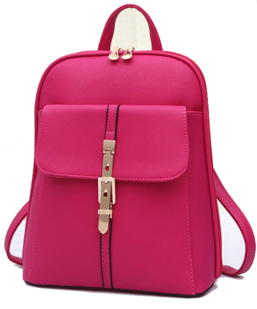 durable service Jenny Trinh Women Soft Leather Lovely Backpack Cute  Schoolbag Shoulder Bag 47c3623c272a1