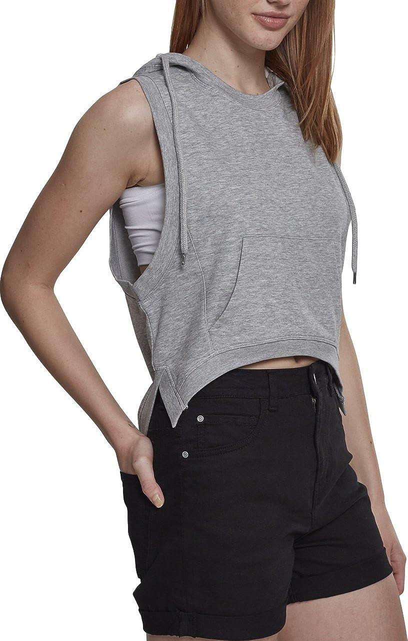 Urban Classics Ladies Hooded Terry Tank Sudadera Deportiva para Mujer