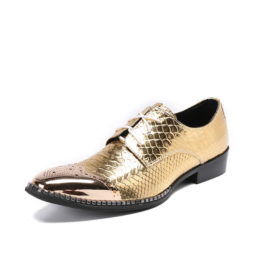 DANDANJIE Herren Formale Schuhe Leder Fallen Winter Oxfords Party & Abend Neuheit Schuhe