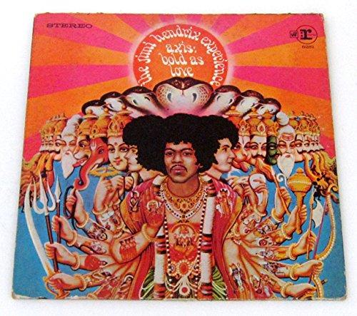 Axis:Bold As Love(Record Album/Vinyl) (Jimi Hendrix Axis Bold As Love Lp)