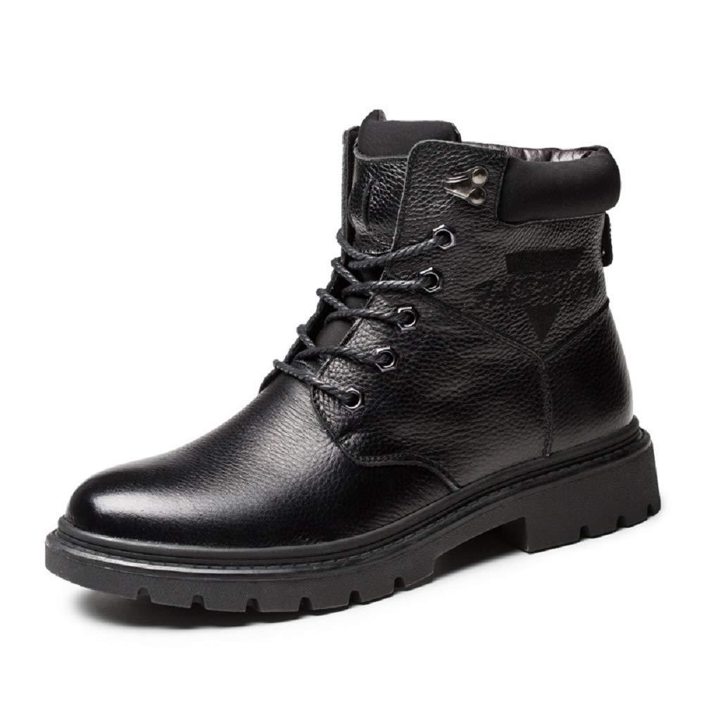Winter warme Martin Stiefel der Männer Rutschfest Plus SAMT warme Schuhe hohe Top-Tooling Militärschuhe