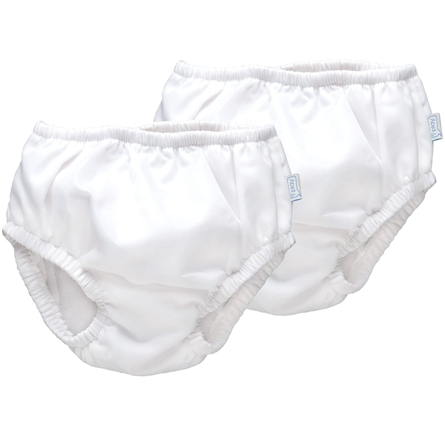 iPlay Ultimate Swim Diaper - White, (12 Months) by i play.   B00A30E4N6