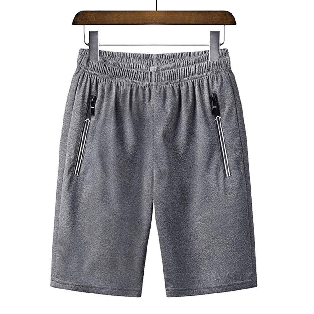 Zeshlla Beach Shorts Mens Swim Trunks Quick Dry Beach Shorts Mesh Lining Board Shorts