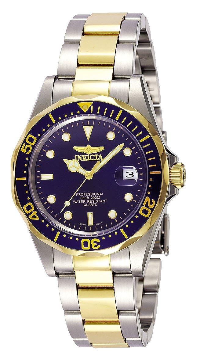Invicta 8935 Pro Diver Reloj Unisex acero inoxidable Cuarzo Esfera azul
