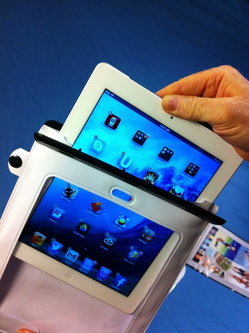 Amazon.com: New Lower Price! Waterproof, Suction-Mount iPad Case ...