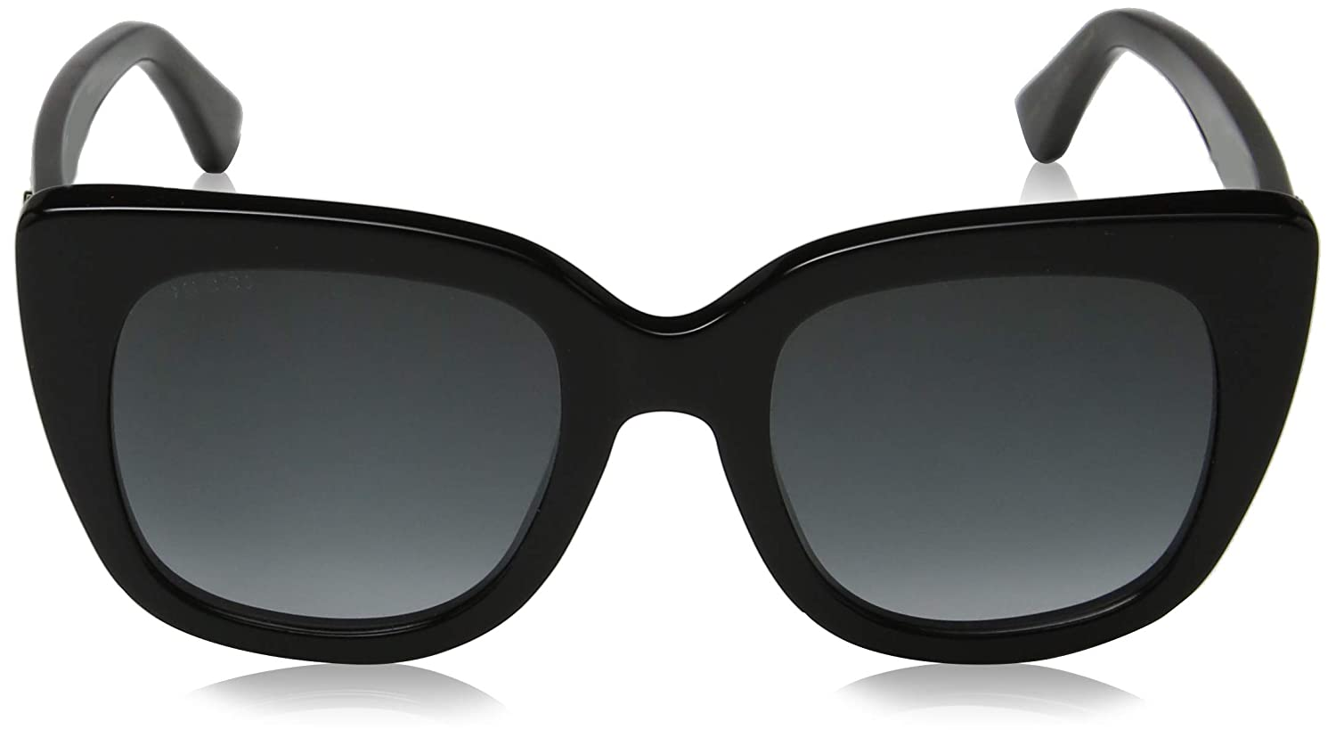 22c72445092 Amazon.com  Gucci GG0163S 001 Black GG0163S Square Sunglasses Lens Category  3 Size 51mm  Clothing