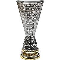 UEFA EUROPA LEAGUE Uniseks Volwassene EL 45 mm replica Pokals in 3D, zilver, 45 mm