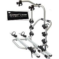 Fahrradträger Heckklappe für 2 Elektrofahrräder Bici OK Elektrobike + ELEMENT TRADE Sticker