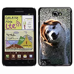 YOYO Slim PC / Aluminium Case Cover Armor Shell Portection //Cool Wet Dog //Samsung Note
