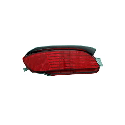 TYC 17-5156-00-1 Compatible with LEXUS Rear Left Replacement Reflex Reflector: Automotive