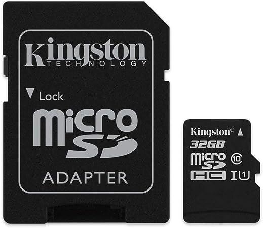 Amazon.com: Seleccione de lona de Kingston 32GB microSDHC ...