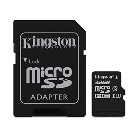 Kingston Canvas Select 32  GB microSDHC Class 10 UHS I 80MB/s Flash Memory Card  SDCS/32  GB  Micro SD
