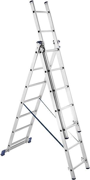 FRAMAR Overhobby Escalera Multiposición Aluminio: Amazon.es: Hogar